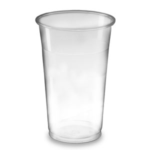 Flexible Plastic Tumbler LCE at 1/2 Pint & 2/3rd Pint 14oz / 400ml
