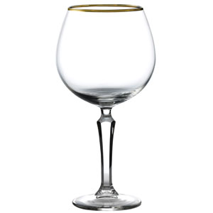 Speakeasy Gold Banded Gin Goblets 20.5oz / 580ml