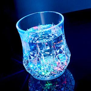 Liquid Activated Flashing Carats Tumbler 6oz / 170ml