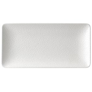Purity Pearls Light Rectangular Plates 7inch / 18cm