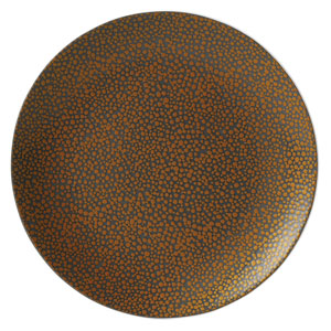 Purity Pearls Gold Coupe Plates 10.6inch / 27cm