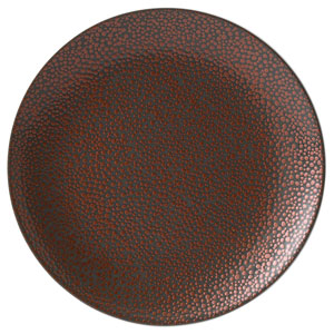 Purity Pearls Copper Coupe Plates 12inch / 31cm