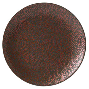 Purity Pearls Copper Coupe Plates 10.6inch / 27cm