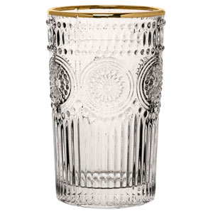 Rossetti Hiball Gold Glasses 12.5oz / 360ml