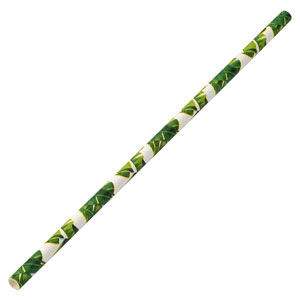 Tropical Paper Straw 8inch