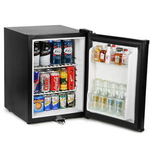 Frostbite Zero Degrees Mini Bar 35ltr Black with Euro Plug