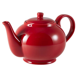 Royal Genware Teapot Red 30oz / 850ml