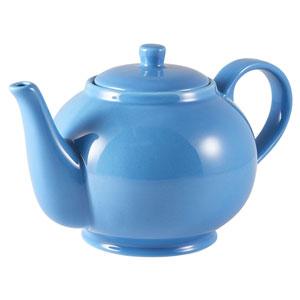 Royal Genware Teapot Blue 30oz / 850ml