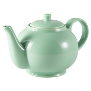 Royal Genware Teapot Green 30oz / 850ml