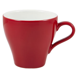Royal Genware Tulip Cup Red 10oz / 280ml