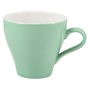 Royal Genware Tulip Cup Green 10oz / 280ml