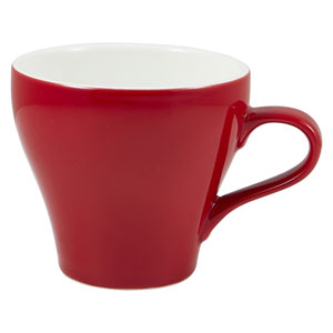 Royal Genware Tulip Cup Red 12.25oz / 350ml