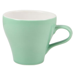 Royal Genware Tulip Cup Green 12.25oz / 350ml
