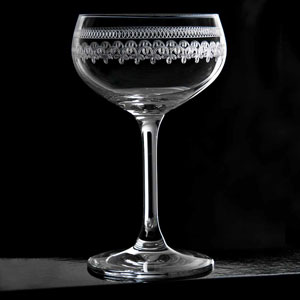 Urban Bar 1910 Retro Coupe Glasses 7.4oz / 210ml