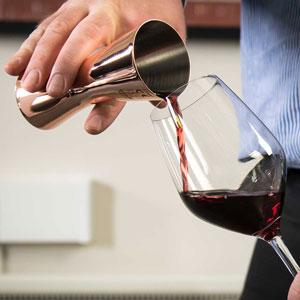 Urban Bar Aero Wine Measure Copper CE Marked 125ml