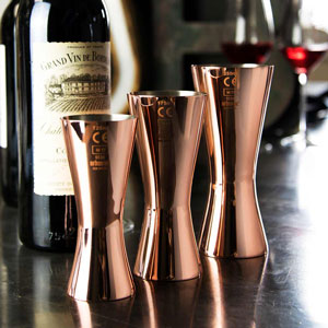 Urban Bar Aero Wine Measure Copper CE Marked 175ml