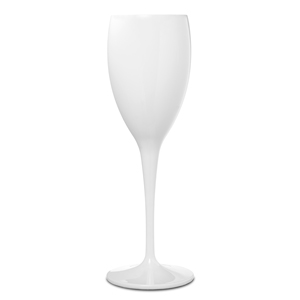 Premium Unbreakable White Champagne Flutes 6.5oz / 175ml