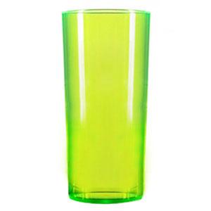 Econ Polystyrene Hiball Tumblers Neon Green CE 10oz / 284ml