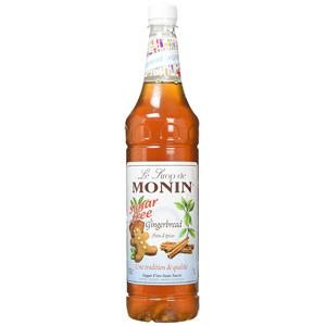 Monin Sugar Free Gingerbread Syrup 1ltr