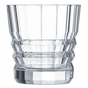 Cristal D'Arques Architecte Old Fashioned Tumblers 11.25oz / 320ml