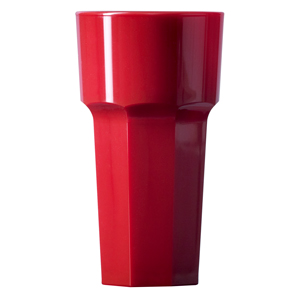 Elite Remedy Polycarbonate Tall Tumblers Red 12oz / 340ml
