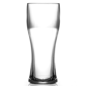Elite Polycarbonate Pilsner Pint Glasses CE Clear 20oz / 568ml