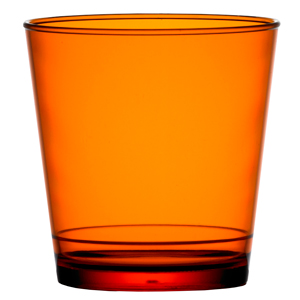 Elite in2stax Rocks Tumblers Orange 9oz / 256ml