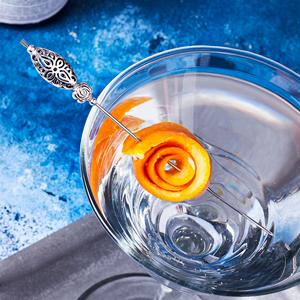 Celtic Flower Bead Cocktail Picks