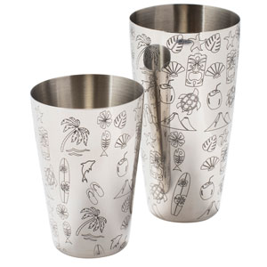Tom Dyer Tiki Cocktail Shaker Set