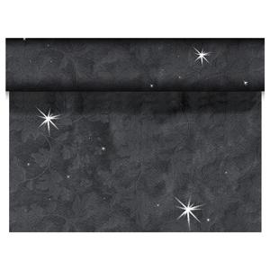 Duni Sensia Brilliance Tete-a-Tete Black 0.45 x 24m