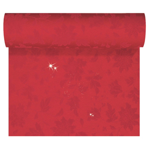 Duni Sensia Brilliance Tete-a-Tete Red 0.45 x 24m