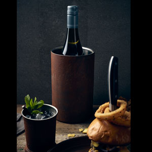 Rust Effect Wine Cooler 7.8inch / 20cm