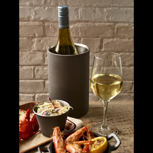 Iron Effect Wine Cooler 7.8inch / 20cm