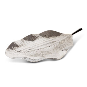 Silver Leaf Design Platter 23.6inch / 60cm