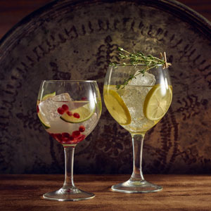 Havana Gin Cocktail Glasses Fully Tempered 21.8oz / 620ml