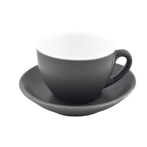 Bevande Intorno Cappuccino Cup Slate 10oz / 280ml