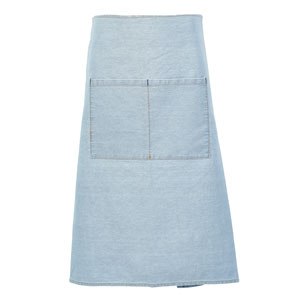 Genware Light Blue Denim Waist Apron 90 x 70cm