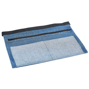 Genware Double Denim Money Apron 44 x 30cm