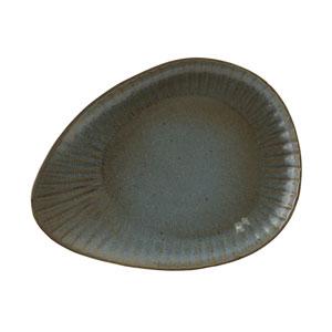 Rustico Fern Reactive Oval Plate 13inch / 34cm