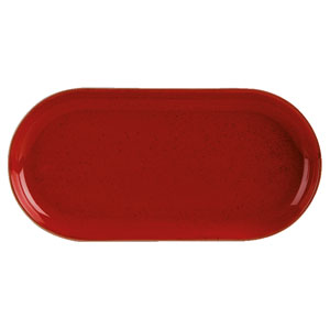 Seasons Magma Narrow Oval Plate 12inch / 30cm
