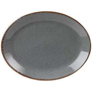 Seasons Storm Oval Plate 12inch / 30cm