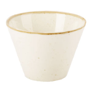 Seasons Oatmeal Conic Bowl 14oz / 400ml