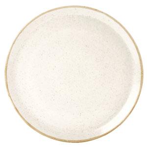 Seasons Oatmeal Pizza Plate 12.5inch / 32cm