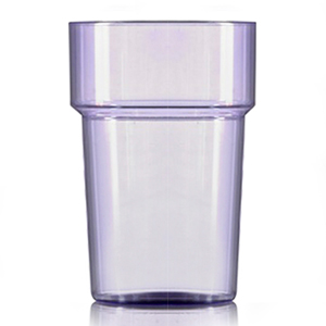 Econ Polystyrene Pint Glasses CE Neon Purple 20oz / 568ml