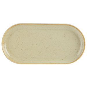 Seasons Wheat Narrow Oval Plate 12inch / 30cm