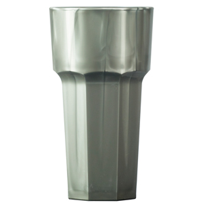 Elite Remedy Polycarbonate Hiball Tumblers Silver 12oz / 340ml