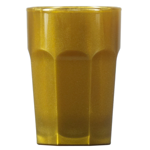 Elite Remedy Polycarbonate Shot Glasses CE Gold 0.9oz / 25ml