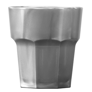 Elite Remedy Polycarbonate Rocks Tumblers Silver 9oz / 256ml
