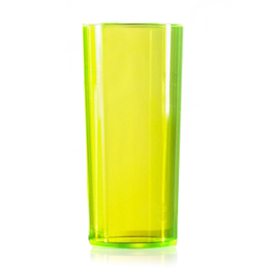 Econ Polystyrene HiBall Tumblers CE Neon Yellow 10oz / 284ml