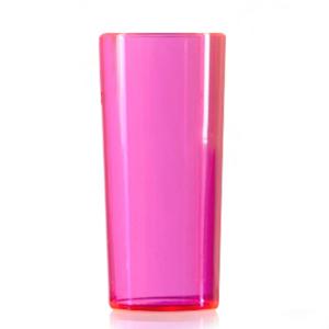 Econ Polystyrene HiBall Tumblers Neon Pink 10oz / 284ml